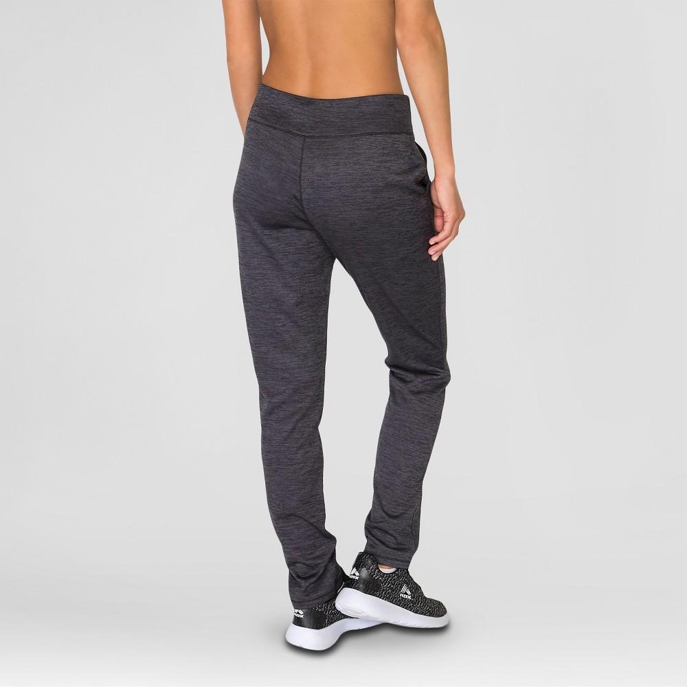 Women's Fleece Straight Leg Pants Black S - Rbx