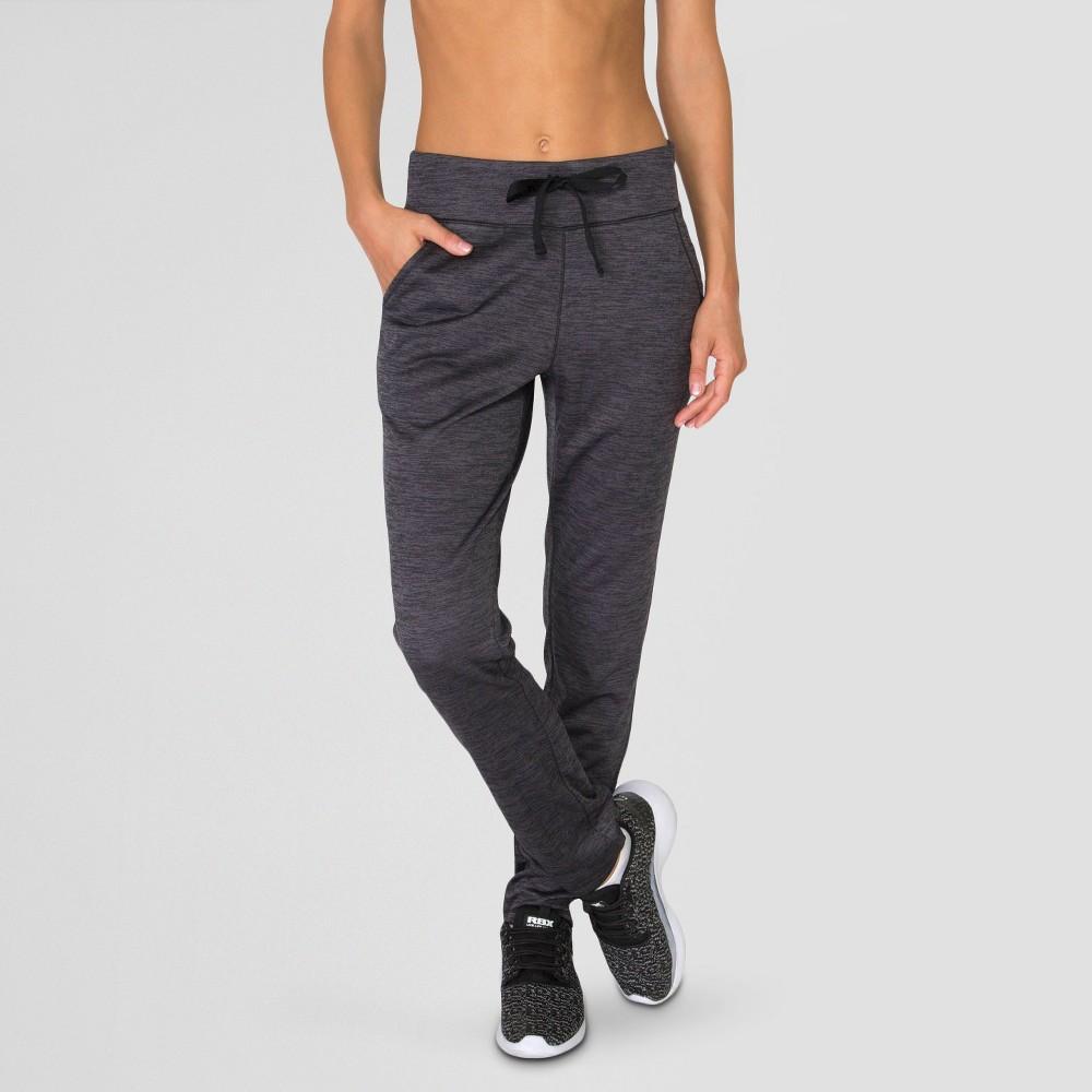 Women's Fleece Straight Leg Pants Black XL - Rbx