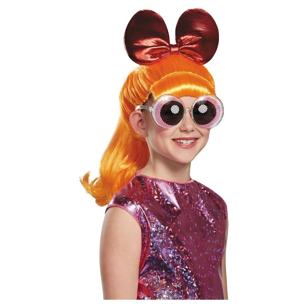 Powerpuff Girls Blossom Child Costume Wig Orange