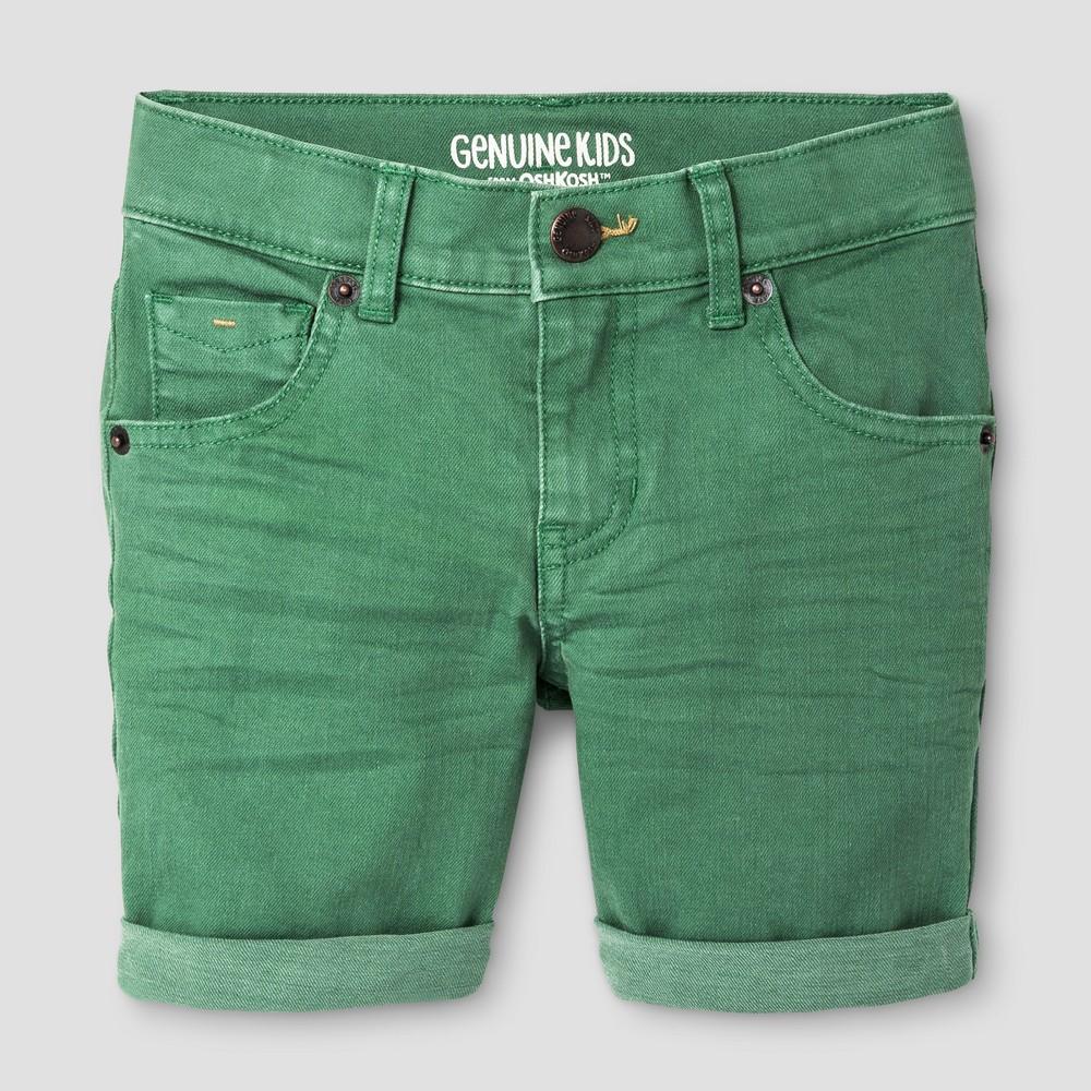 Baby Boys' Trouser Shorts Genuine Kids from OshKosh Green 12M, Infant Boy's, Size: 12 M
