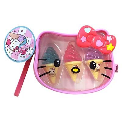 Hello Kitty Ice Cream Flavored Lip Balm Trio