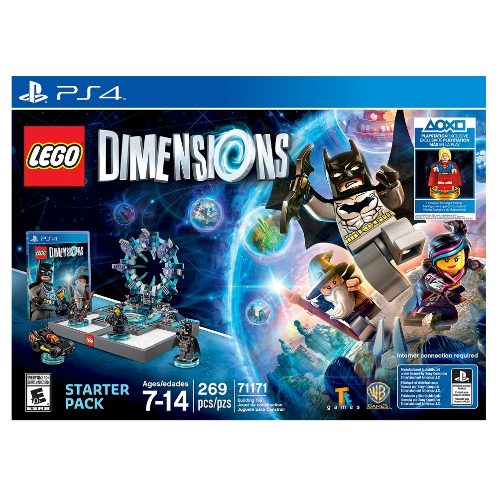 Warner Brothers Lego Dimensions Starter Pack with Supergi...