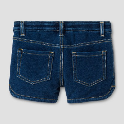 Plus Size Girls' Jean Shorts Cat & Jack Dark Blue Xxl Plus, Girl's