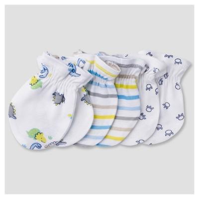 Baby Boys' 3pk Mitten Set Dinos - Gerber®