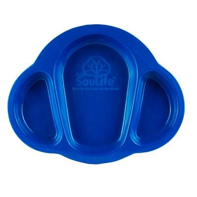 EcoSouLife® Husk Little People Baby Plate - Denim