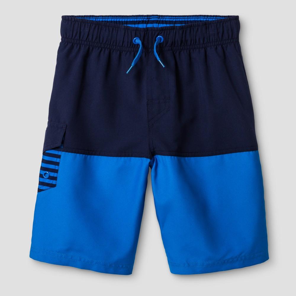 Boys Swim Trunks - Cat & Jack Navy XS, Blue