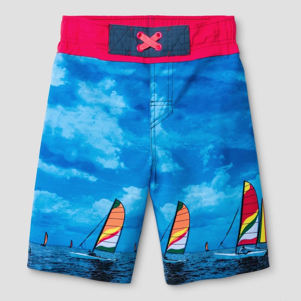 Boys Swim Trunks - Cat & Jack Blue - L