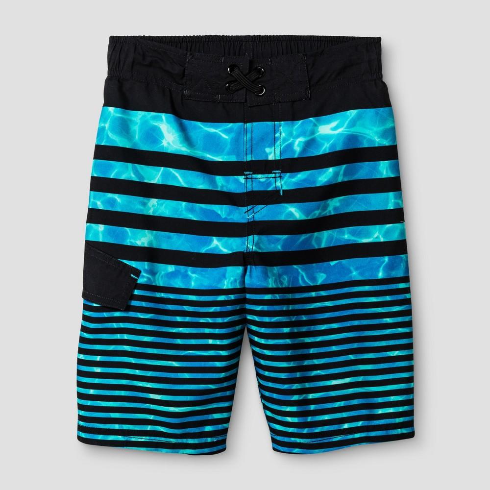 Boys Swim Trunks - Cat & Jack Aqua - XS, Blue