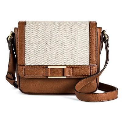 Womens Two Tone Crossbody Handbag Merona Target