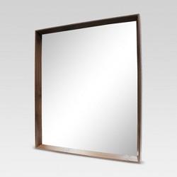 Walnut Decorative Wall Mirror - Project 62™