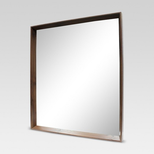 Decorative Wall Mirrors At Target : Walnut decorative wall mirror project target
