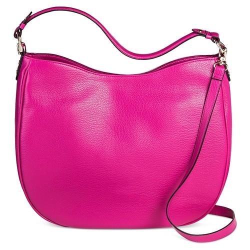 Women's Large Hobo Handbag - Merona, Springtime Pink
