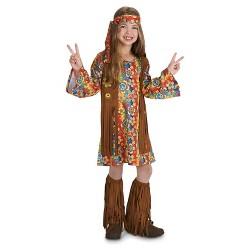60's Hippie with Fringe Child's Costume