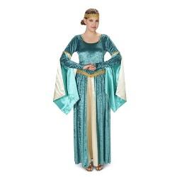 Medieval Velvet Women's Costume