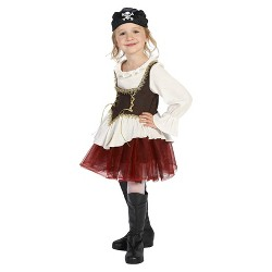 Girls' Pirate with Tutu Costume
