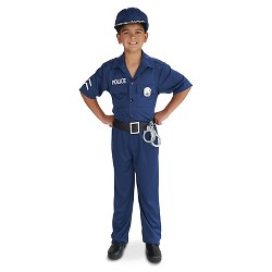 Police Officer Child's Costume