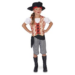 Girls' Sea Pirate Costume