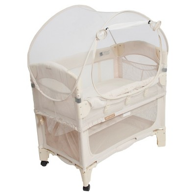 Natural - Arm's Reach Mini Co-Sleeper Bassinet Canopy