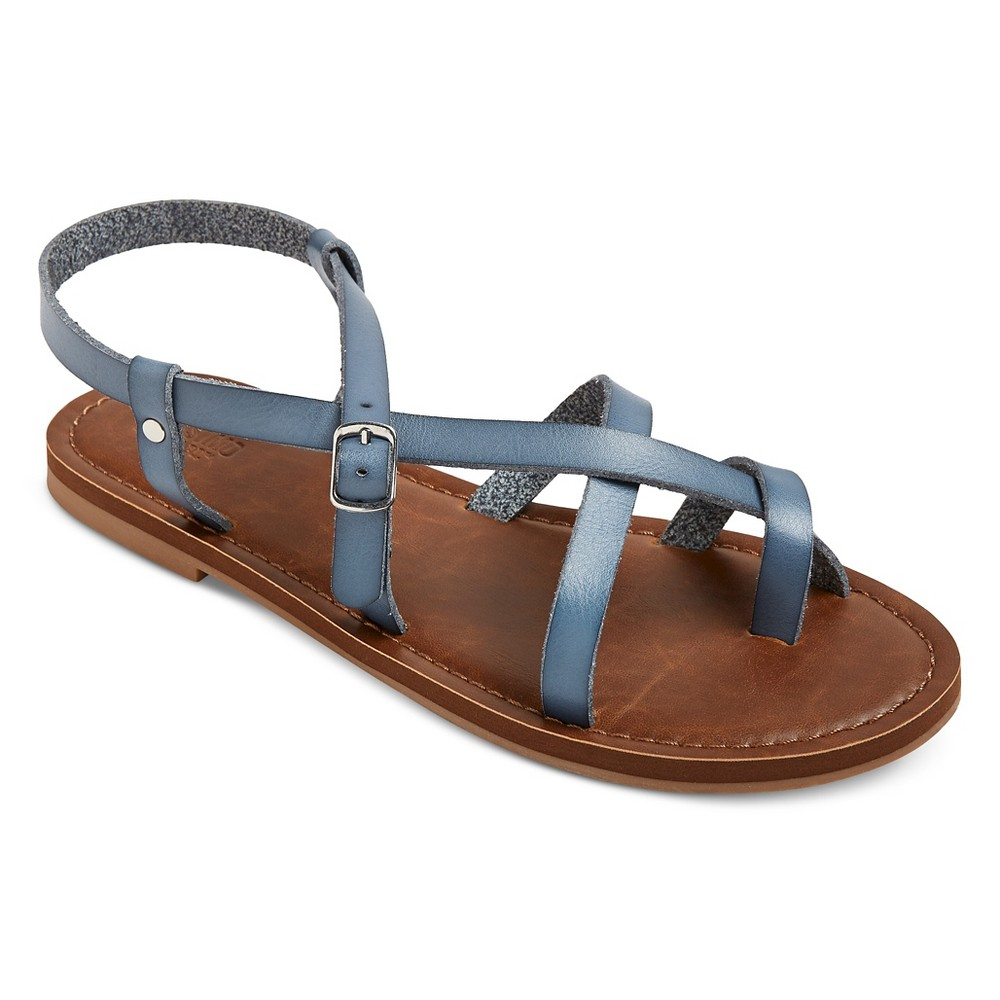 Womens Lavinia Thong Sandals - Mossimo Supply Co. Blue 6.5