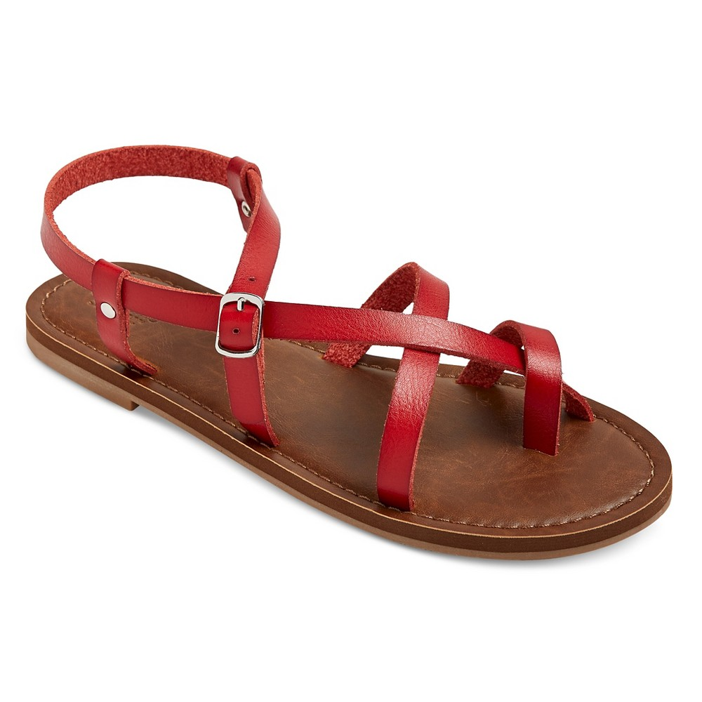 Womens Lavinia Thong Sandals - Mossimo Supply Co. Red 5.5