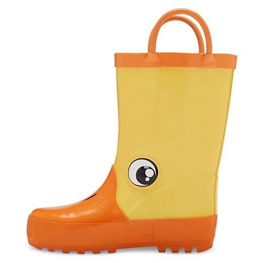Toddler Boys' Duff Rain Boots Cat & Jack™ - Yellow : Target