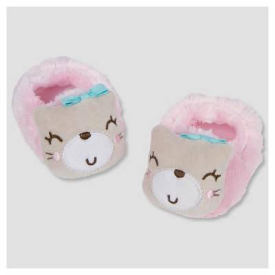 Baby Girls' Velboa Kitty Bootie - Gerber®
