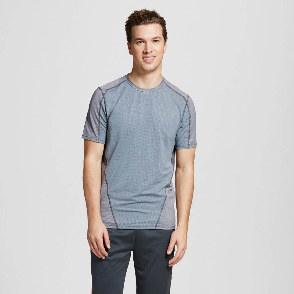 Mens Speed Knit Fitted T-Shirt - C9 Champion Concrete S