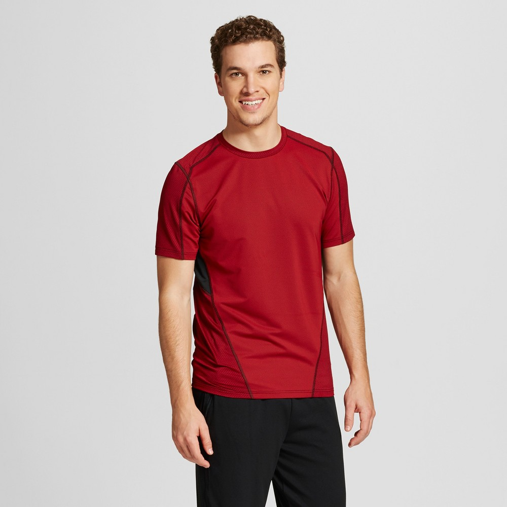 Men's Speed Knit Fitted T-Shirt - C9 Champion Ripe Red XL