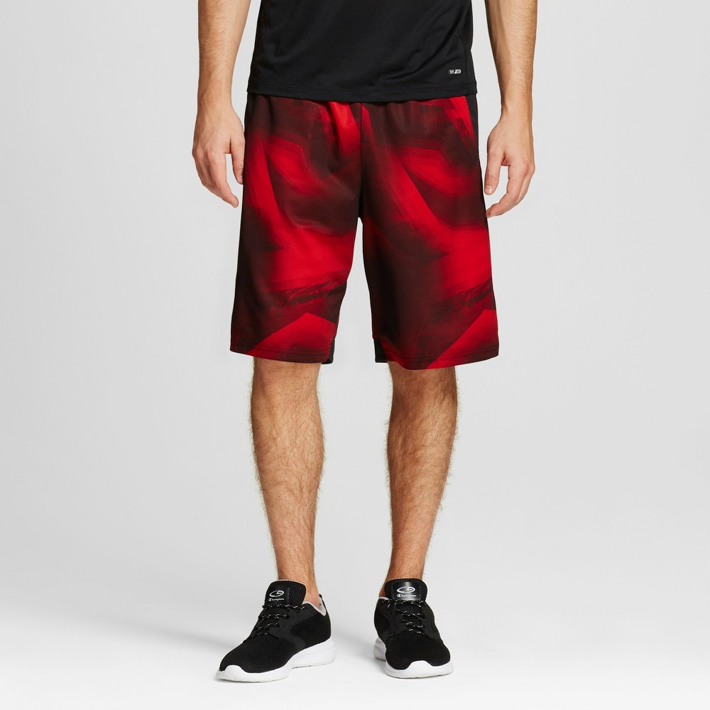 Mens Fadeaway Basketball Shorts - C9 Champion Ripe Red XL