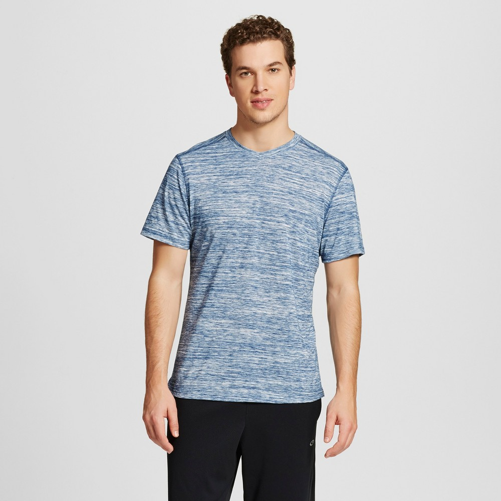 Mens Soft Touch Training T-Shirt - C9 Champion - Cruising Blue Heather L