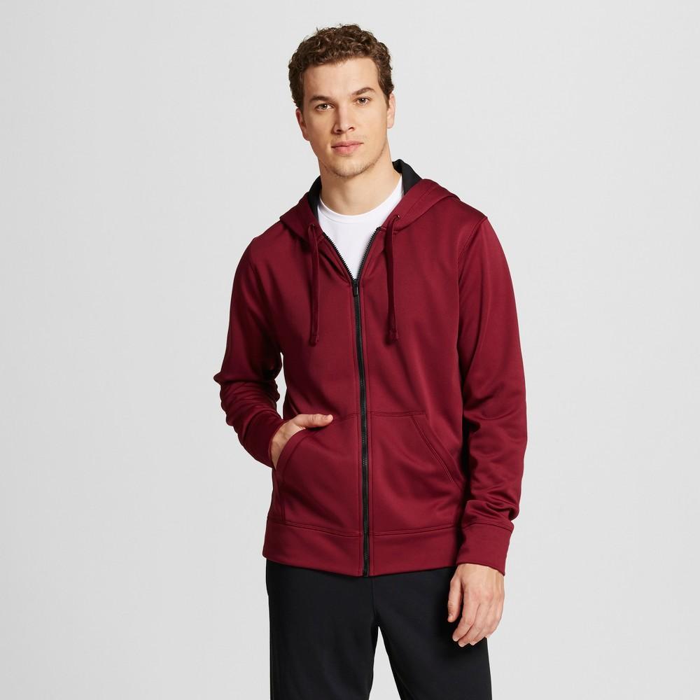 Men's Tech Fleece Full Zip Hoodie - C9 Champion Red XL