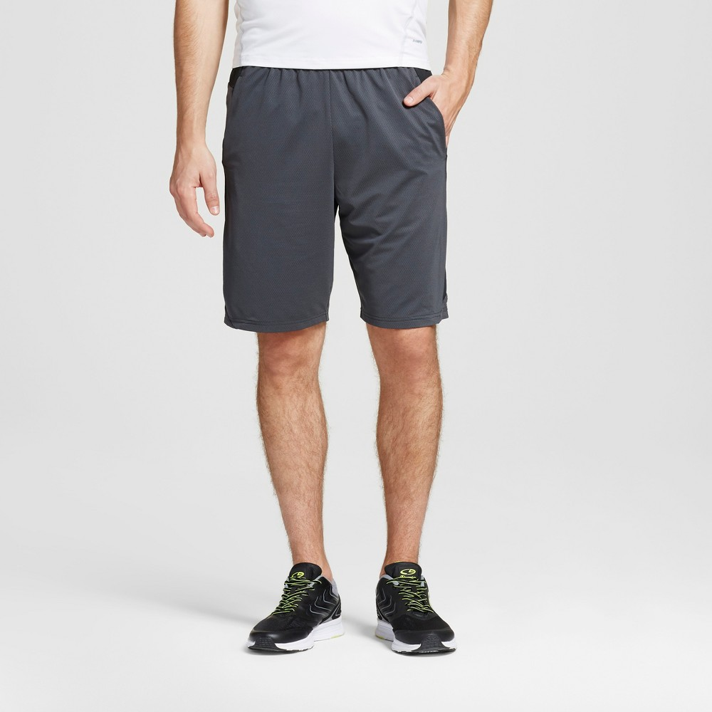 Mens Speed Knit Cross Train Shorts - C9 Champion - Railroad Gray S