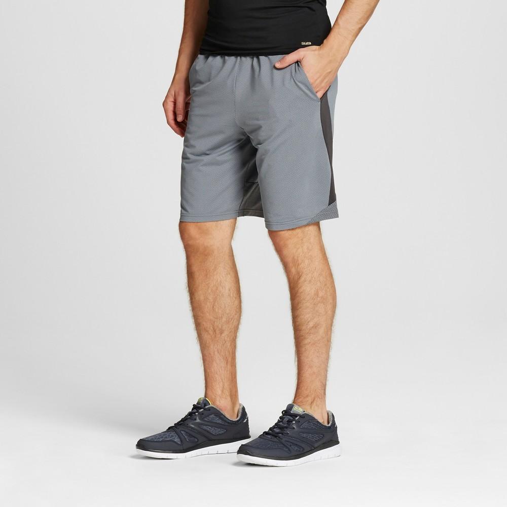 Mens Speed Knit Cross Train Shorts - C9 Champion Concrete S