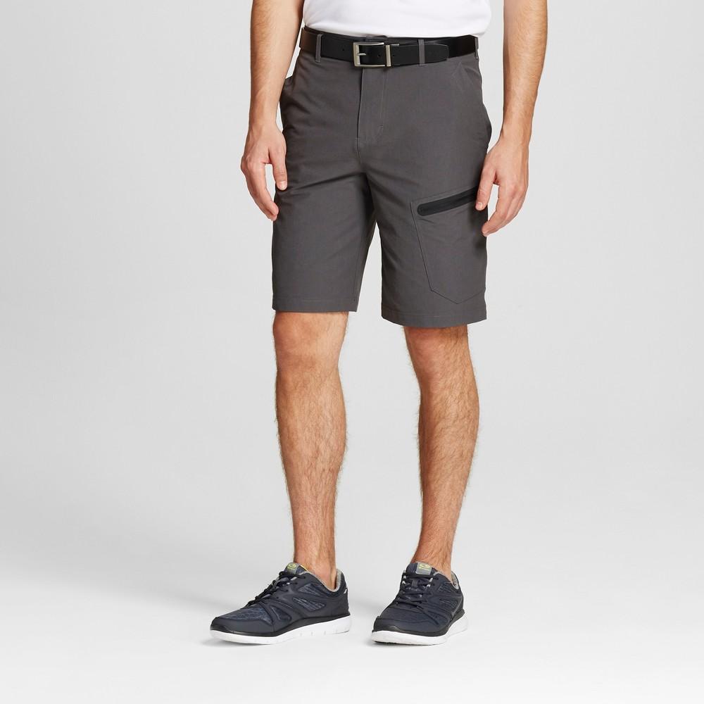 Mens Cargo Golf Shorts - C9 Champion Railroad Gray 34