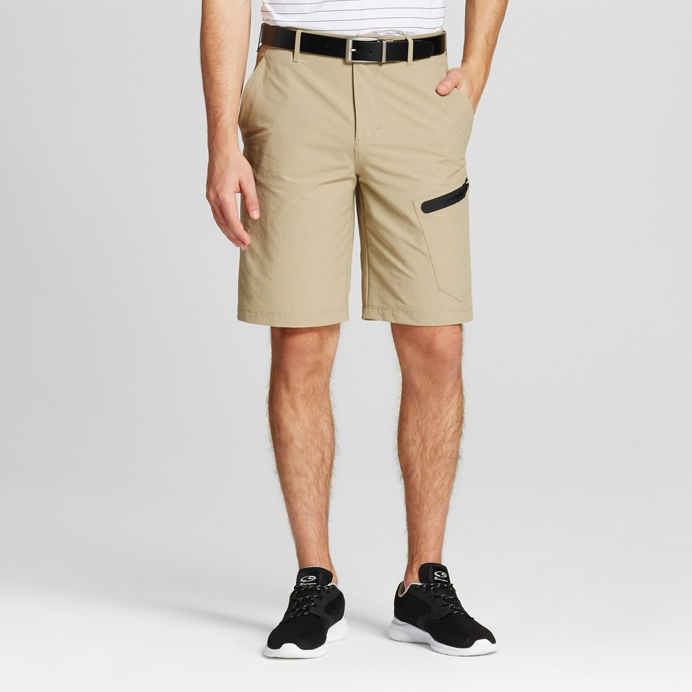 Mens Cargo Golf Shorts - C9 Champion Tree House Khaki 34