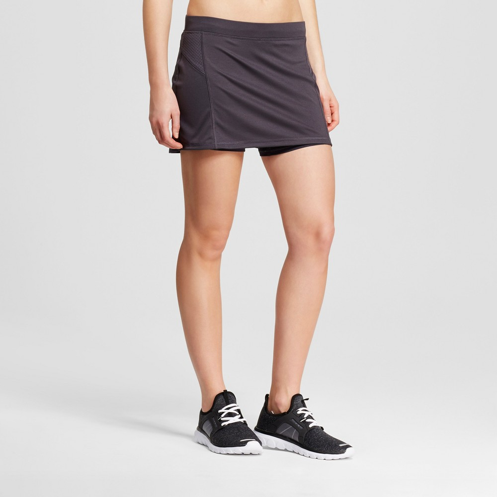 Womens Run Skorts - C9 Champion - Dark Gray S
