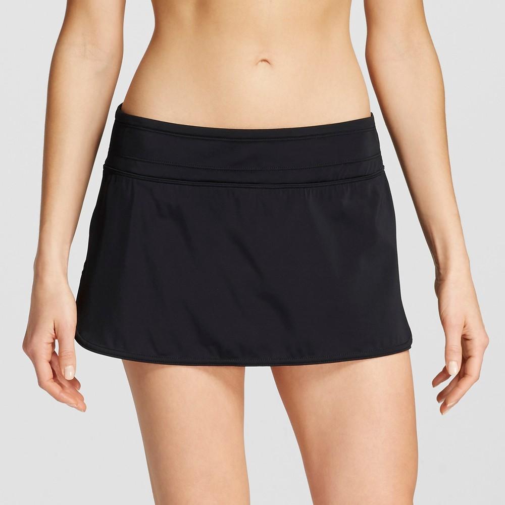 Womens Swim Skirt - Black - S - Clean Water