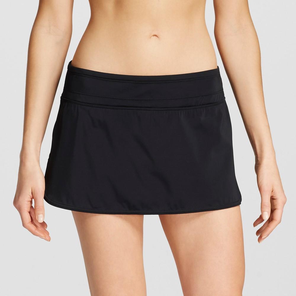 Womens Swim Skirt - Black - M - Clean Water
