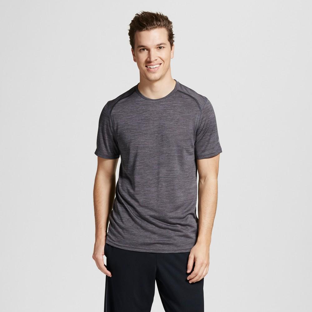 Mens Premium Tech T-Shirt - C9 Champion Railroad Gray Heather XL