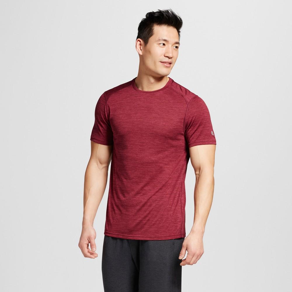 Mens Premium Tech T-Shirt - C9 Champion Bordeaux Heather L