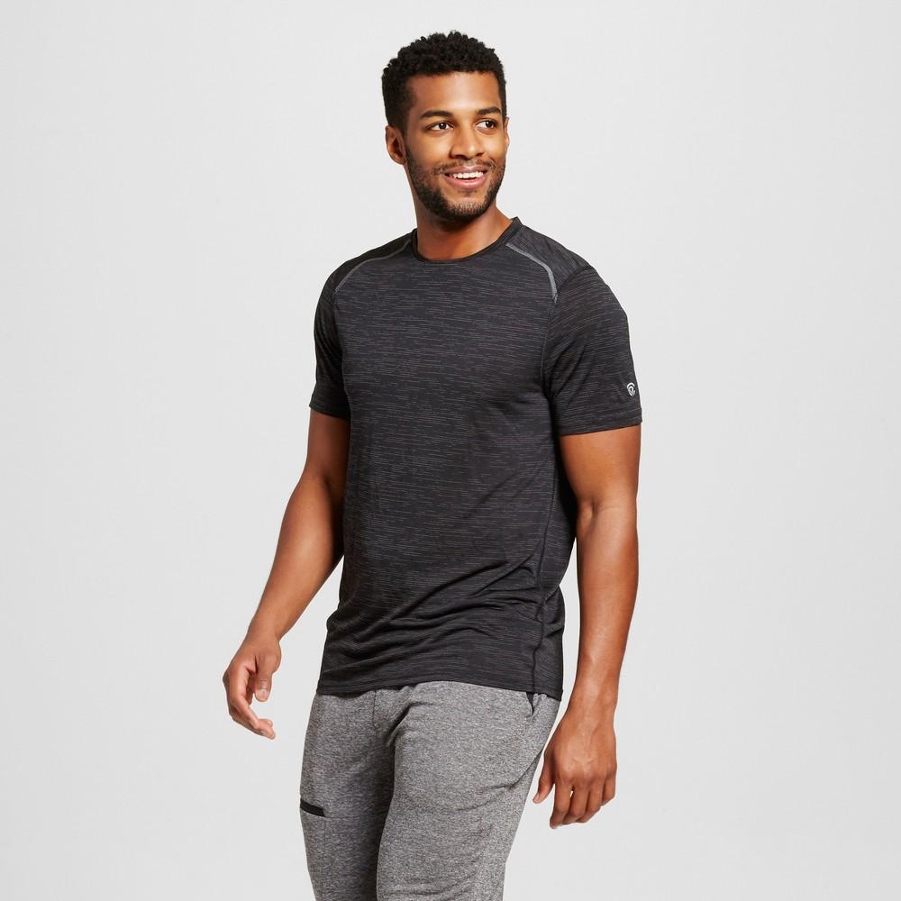 Men's Premium Tech T-Shirt Black Heather M - C9 Champion