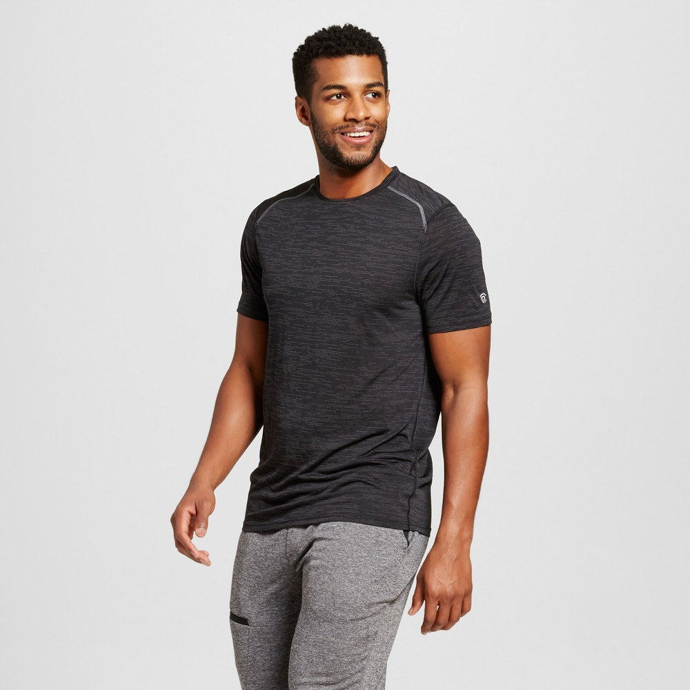 Men's Premium Tech T-Shirt Black Heather L - C9 Champion
