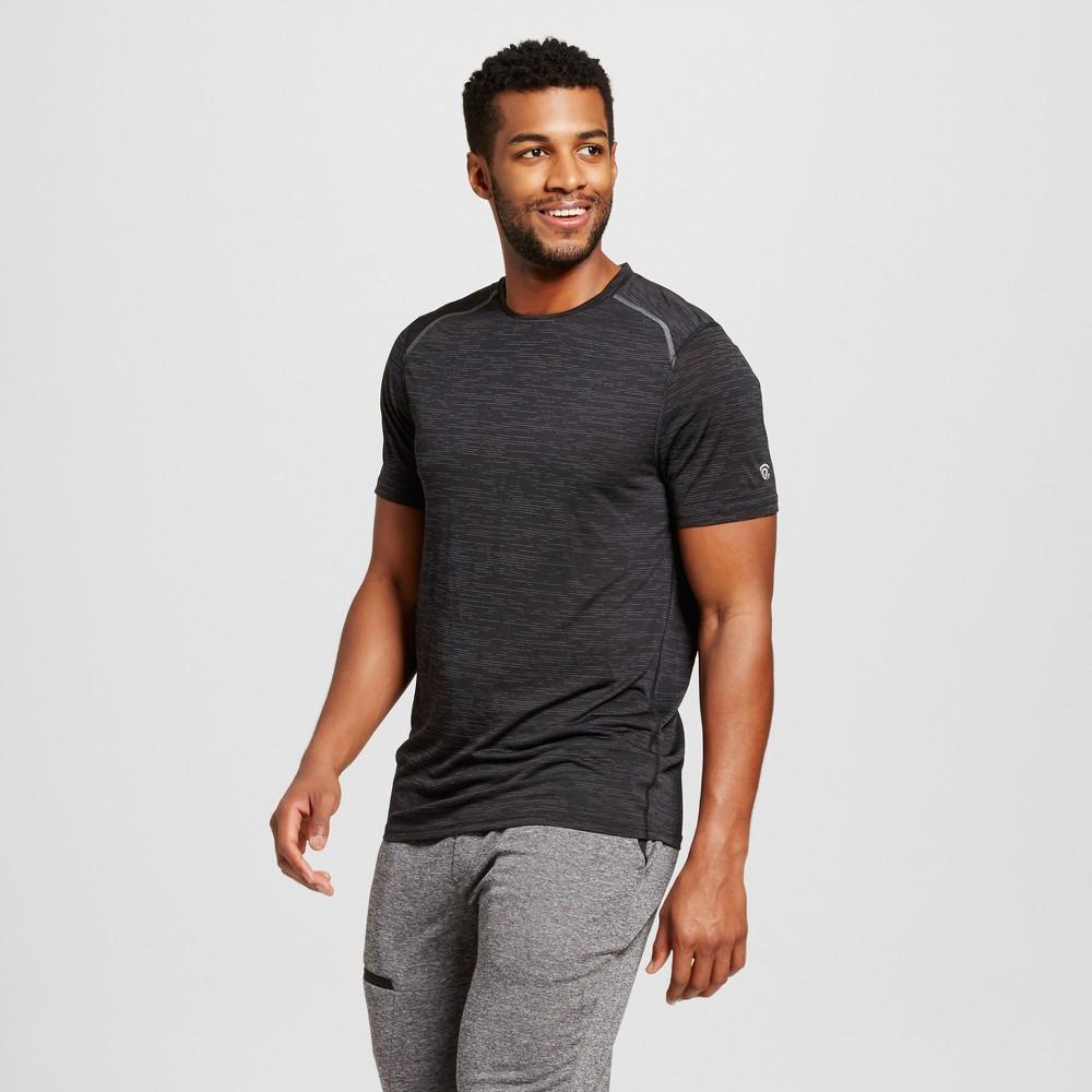 Mens Premium Tech T-Shirt - C9 Champion Black Heather XL