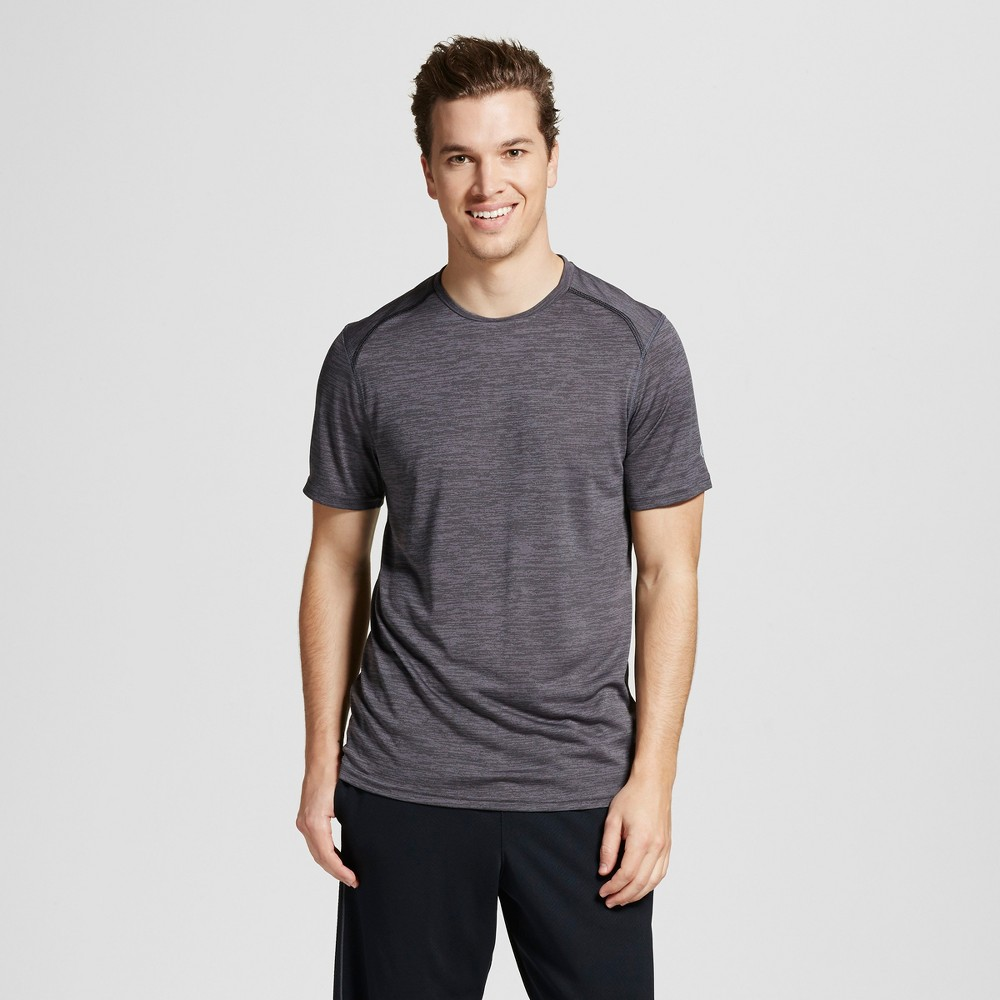 Mens Premium Tech T-Shirt - C9 Champion Railroad Gray Heather L
