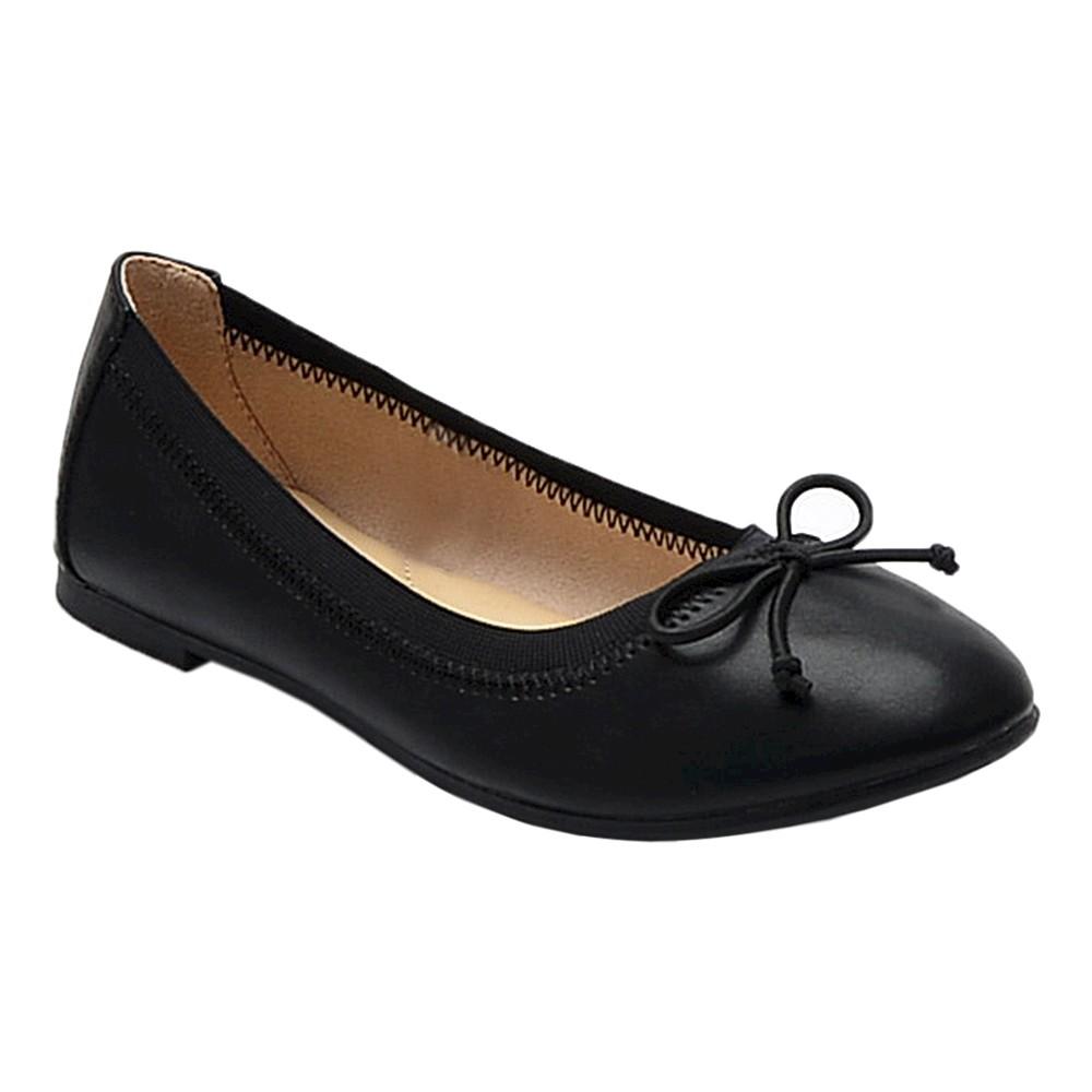 Girls Brandee Ballet Flats Cat & Jack - Black 5