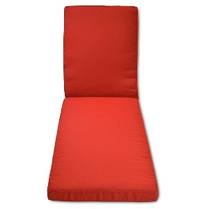 Halsted Outdoor Chaise Lounge Cushion Set - Red - Threshold