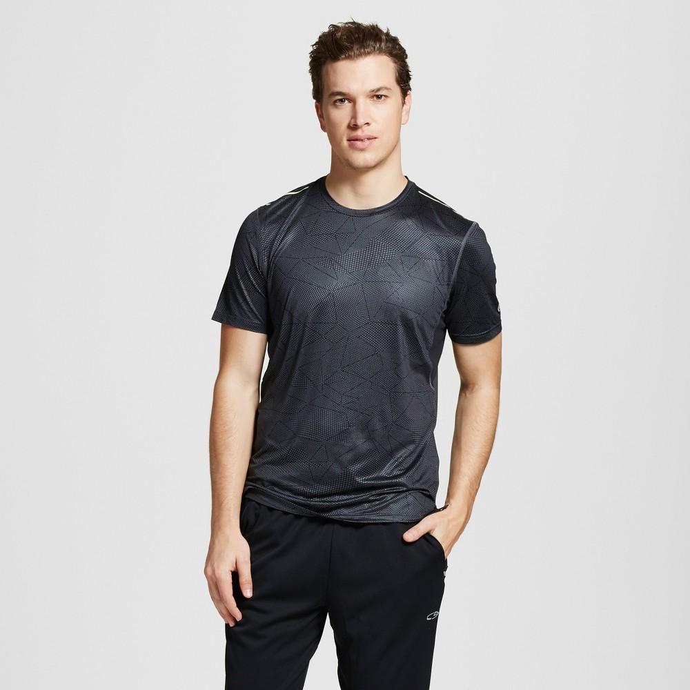 Mens Graphic Run T-Shirt - C9 Champion Thundering Gray S