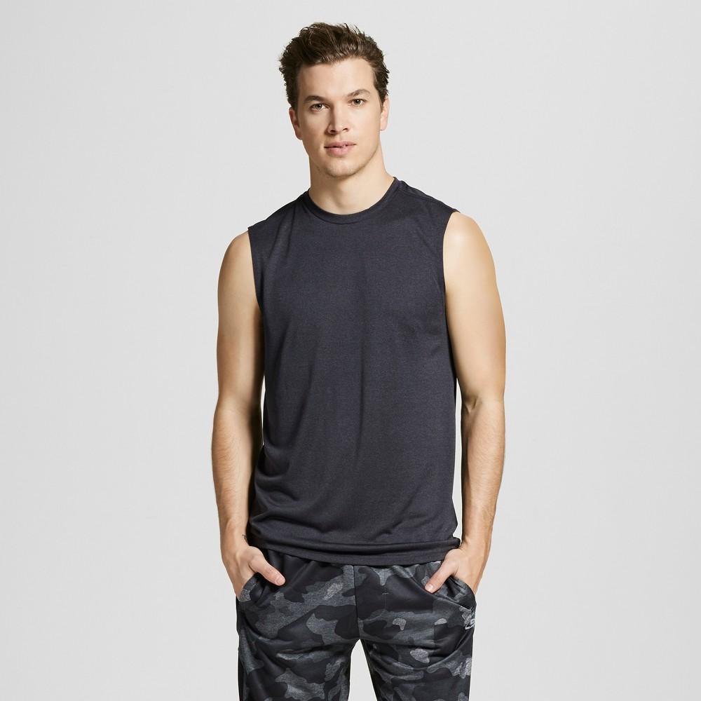 Mens Sleeveless Tech T-Shirt - C9 Champion Onyx Heather L