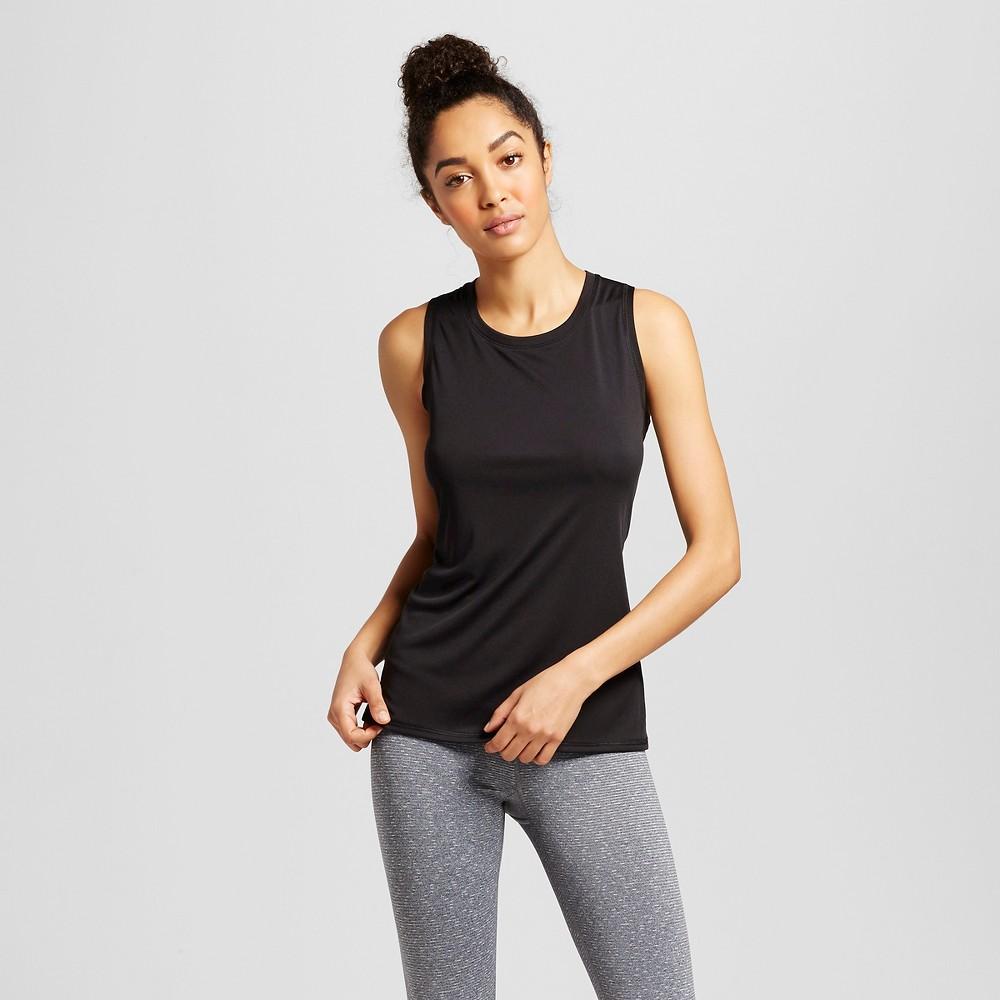 Womens Sleeveless Tech T-Shirt - C9 Champion Black L