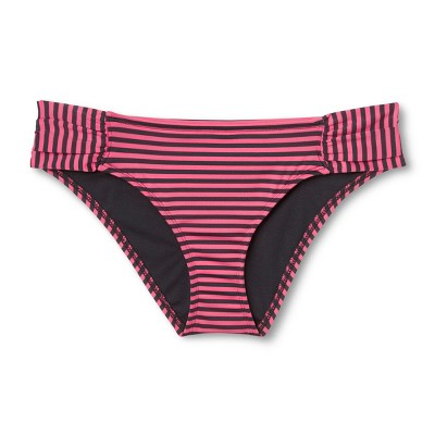 Women'Tabside Hipster Bikini Bottom - Fruit Punch Pinklate (Fruit Punch Pink/Grey)  - Mossimo